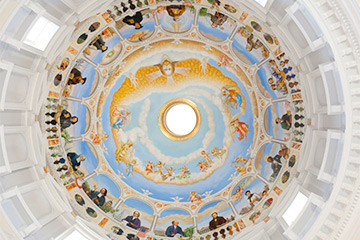 hodges chapel interior dome